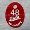 Гардеробные номерки с логотипом заведения 6